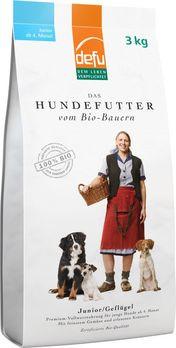 Defu Trockenfutter Hund Junior 3kg