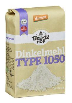 Bauckhof Dinkelmehl Type 1050, demeter 1kg/A