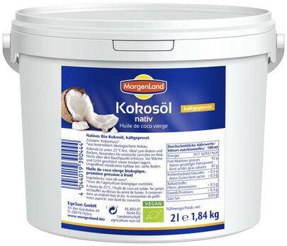 MorgenLand Kokosöl nativ 2l