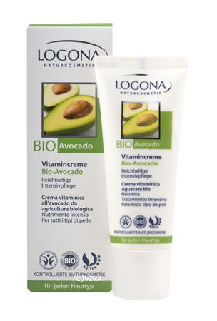 LOGONA zellerneuernde 24h Vitamincreme Bio-Avocado 30ml