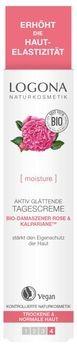 LOGONA Aktiv Glättende Tagescreme Bio-Damaszener Rose & Kalpariane 30ml