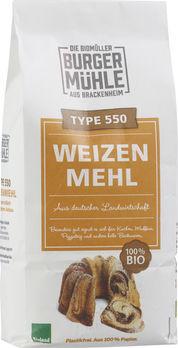 Burgermühle Weizenmehl Type 550, 1kg