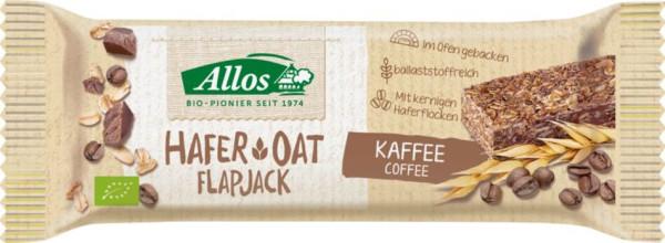 Allos Hafer Flapjack Kaffee 50g