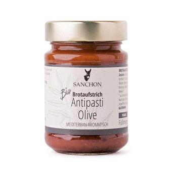 Sanchon Brotaufstrich Antipasti Olive 190g