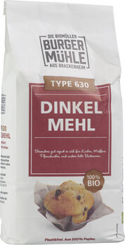 Burgermühle Dinkelmehl Type 630, 1kg