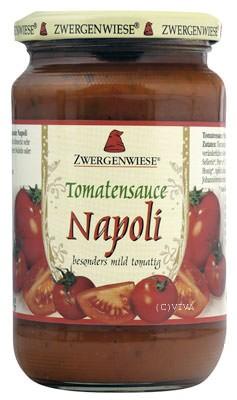 Zwergenwiese Tomatensauce Napoli 350g