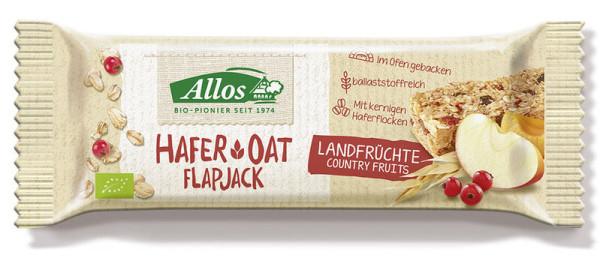 Allos Hafer Flapjack Landfrüchte 50g