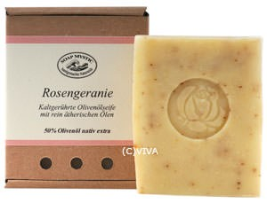 Soap Mystic Naturseife Rosengeranie 100g