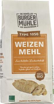 Burgermühle Weizenmehl Type 1050, 1kg