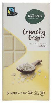 Naturata Chocolat Weiße Crisp Schokolade 100g