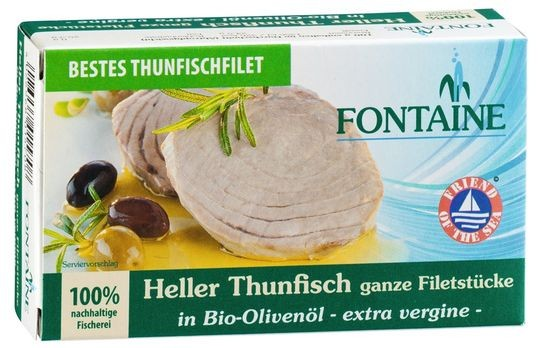 Fontaine Thunfisch hell, in Olivenöl 120g