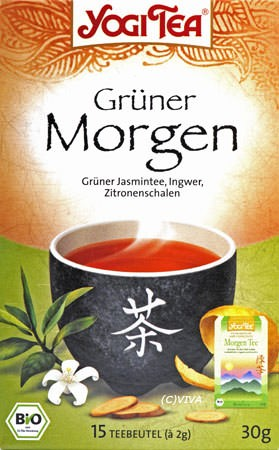 Golden Temple Grüner Morgen Tee 15Btl