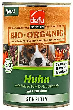 Defu Hundemenü Huhn High Sensitive 410g