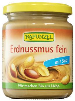 Rapunzel Erdnussmus fein mit Salz 250g