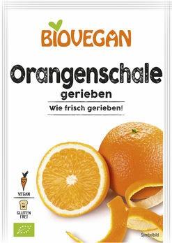 Biovegan Orangenschale gerieben 9g