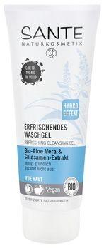 SANTE Erfrischendes Waschgel Bio-Aloe Vera & Chiasamen-Extrakt 100ml