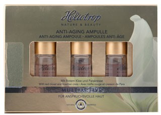 Heliotrop MULTIACTIVE Anti-Aging Ampullen 3x2,5ml