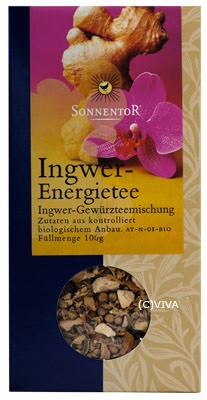 Sonnentor Ingwer-Energie Kräuterteemischung 100g