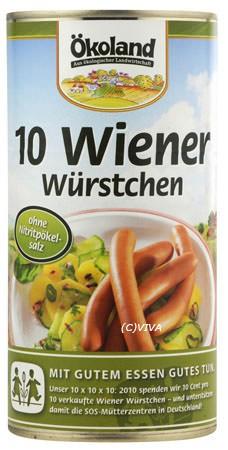 ökoland Wiener-Würstchen 180g