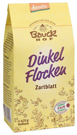 Bauckhof Dinkelflocken Zartblatt demeter 425g