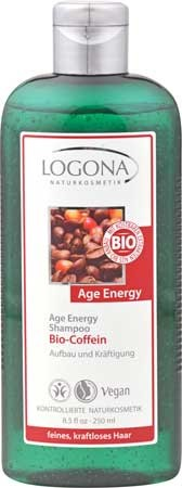LOGONA Shampoo Age Energy Bio-Coffein 250ml