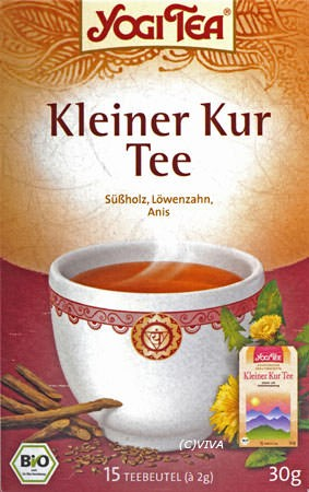 Golden Temple Kleiner Kur Tee 17Btl