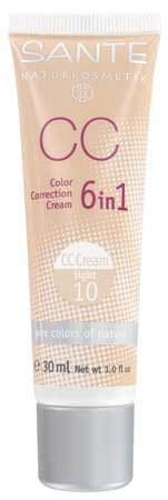 SANTE CC Color Correction Cream No. 10 light 30ml