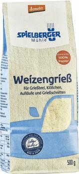 Spielberger Weizengrieß demeter 500g