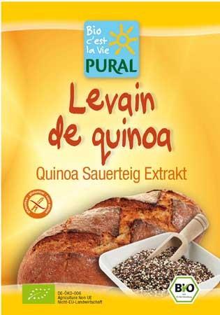 Pural Quinoa Sauerteigextrakt glutenfrei 20g