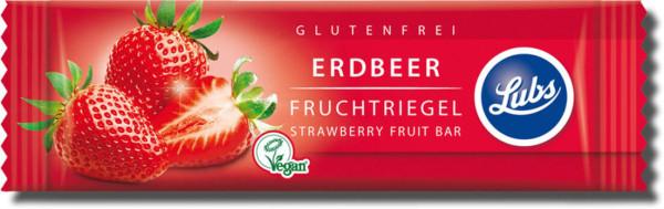 Lubs Premium Fruchtriegel Erdbeer 30g