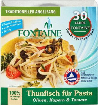 Fontaine Thunfisch für Pasta Oliven, Kapern & Tomate 200g
