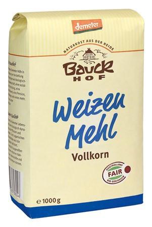 Bauckhof Weizenmehl Vollkorn Demeter 1kg