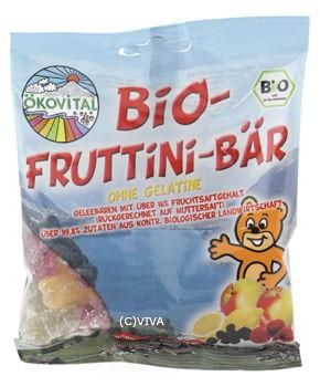 ökovital Bio-Fruttini-Bär, ohne Gelatine 100g