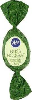 Lubs Ostereier Nussnougat mit Vollmilchschokolade 5x20g/S