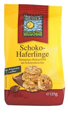 Bohlsener Mühle Schoko Haferlinge 125g