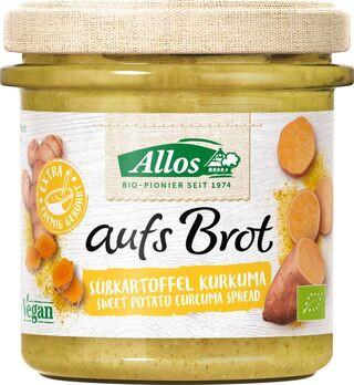 Allos Aufs Brot Süßkartoffel Kurkuma 140g