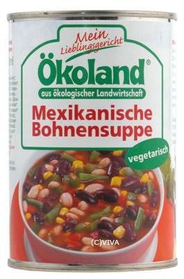 ökoland Mexikanische Bohnensuppe, vegetarisch 400ml