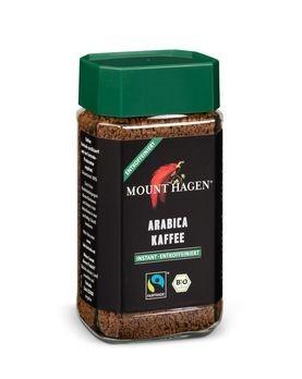 Mount Hagen Löslicher Bohnenkaffee, entkoffeiniert 100g