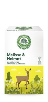 Lebensbaum Melisse & Heimat Tee 20 Btl