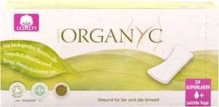 Organyc Slipeinlagen flach 24 Stück