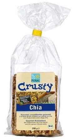 Pural Crusty Chia, Gourmet Knäckbrot 200g