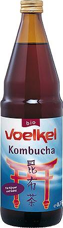 Voelkel Kombucha Original Enzymgetränk 0,75l + 0,15 EUR Pfand
