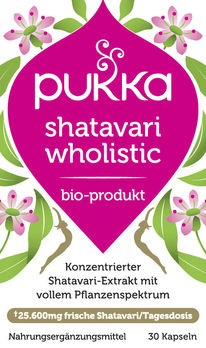 PUKKA Shatavari Wholistic Kapseln 30 Stück