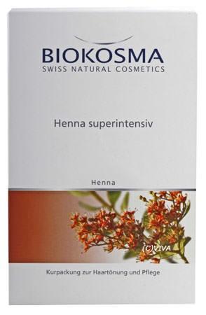 Biokosma Henna Pulver super-care superintensiv 100g