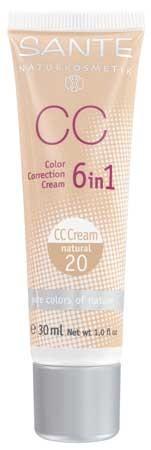 SANTE CC Color Correction Cream No. 20 natural 30ml