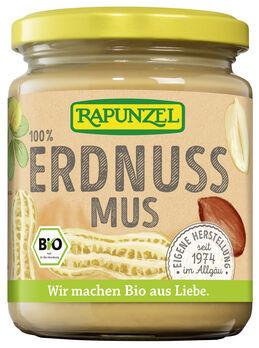 Rapunzel Erdnussmus fein ohne Salz 250g