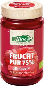 Allos Frucht Pur 75% Aufstrich Himbeere 250g