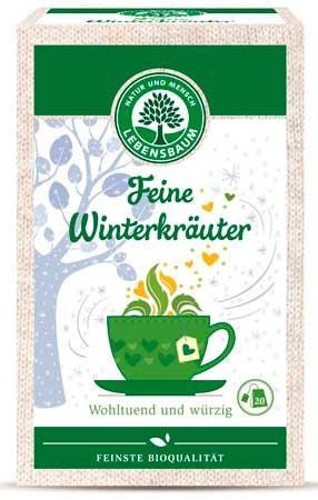 Lebensbaum Feine Winterkräuter, Kräutertee 20 Beutel 40g
