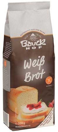 Bauckhof Weißbrot glutenfrei Backmischung 500g