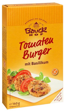 Bauckhof Tomaten-Basilikum-Burger 140g